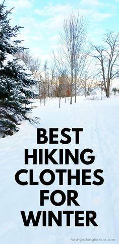 Outdoor Travel packing Best hiking clothes for winter. What to wear hiking in cold weather. winter hiking gear tips. camping tips. what to pack for travel packing list. Running In Cold Weather, Winter Running, Winter Hiking, Winter Camping, Camping And Hiking, Winter Travel, Camping Hacks, Camping Gear, Camping Stuff