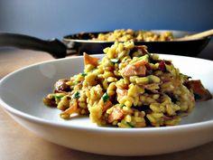 Risotto With Prosciutto and Peas