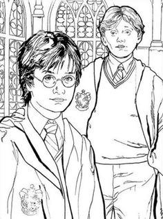 Fun Harry Potter Coloring Pages Ideas For Kids. There are many ideas in the Harry Potter coloring pages. You should not choose Harry (the main character) as the Cartoon Coloring Pages, Coloring Pages To Print, Coloring Book Pages, Printable Coloring Pages, Coloring Pages For Kids, Coloring Sheets, Free Coloring, Colouring Pics, Images Harry Potter