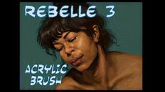 Rebelle 3 Acrylic Brush