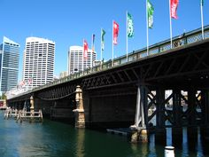 Pyrmont Bridge, Sydney / Together with the Sydney Harbour Bridge, Anzac, Iron Cove, Gladesville, Tarban Creek and Fig Tree Bridges, Pyrmont Bridge has formed part of the annual Seven Bridges Walk circuit since 2006. / A free community event promoting walking as a way of staying fit and active.