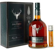 The Dalmore 15 Year Old Highland Single Malt Scotch Whisky Gift Set | @Caskers