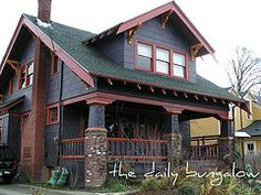 craftsman bungalow exterior colors best craftsman bungalow exterior paint schemes images on craftsman bungalow exterior exterior paint schemes and bungalows craftsman house exterior color combinations Craftsman Bungalow House Plans, Craftsman Exterior, Bungalow Homes, Craftsman Style Homes, Craftsman Bungalows, Bungalow Porch, Cafe Exterior, Craftsman Bathroom, Exterior Paint Colors For House