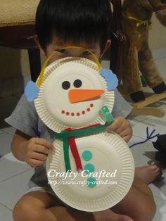 reciclagem+pratos+natal+boneco+neve+lembrança+prato+descartável+.jpg (480×640)