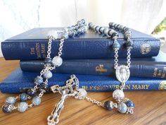 The Blessed Virgin Rosary by DULCIUSdesign on Etsy