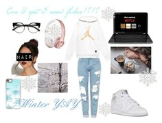 """""""Yay Winter!!"""" by yasmina676 ❤ liked on Polyvore featuring Topshop, GE, Beats by Dr. Dre and Casetify"""