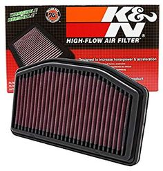 K&N YA-1009 Air Filter - Yamaha YZF R1 and Yamaha YZF R1 LE Motorcycle Air Filters, Top Fuel Dragster, Performance Air Filters, Furnace Filters, Filter Design, Yamaha Yzf R1, Oil Filter, Engineering, Flow