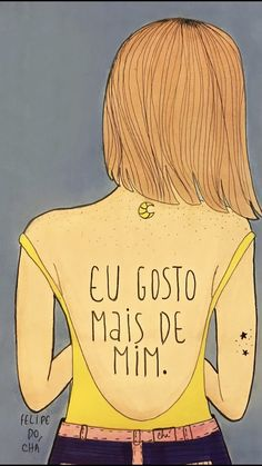 Sou mais eu 💫 Go And Love Yourself, Pop Art Girl, Self Motivation, Interesting Quotes, Happy Thoughts, In My Feelings, Powerful Women, Self Esteem, Girl Power