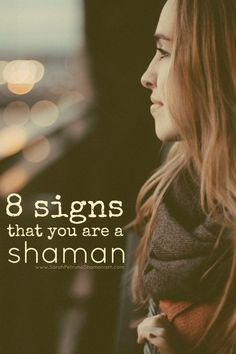 Signs you might be a shaman. Find out here. - Pinned by The Mystic's Emporium on Etsy