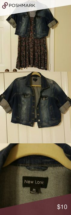 Super Comfy Denim Jacket Casual, goes with anything jacket New Look Jackets & Coats Jean Jackets