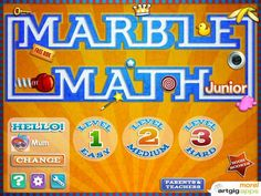 Marble Math Jr. Review - Smart Apps For Kids