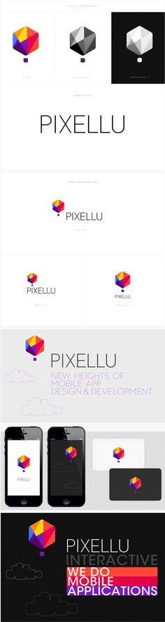 Pixellu | #corporate #branding #creative #logo #personalized #identity #design #corporatedesign < repinned by www.BlickeDeeler.de | Have a look on www.LogoGestaltung-Hamburg.de