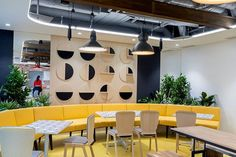 AMA Design were tasked with the design for financial technology company, Finastra, located in Bucharest, Romania. Finastra has proudly opened its new Architecture Company, Cove Lighting, Banquette Seating, Relaxation Room, Bucharest, Offices, Furniture Design, Lounge, Interior Design