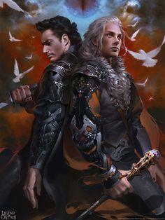 character fantasy D&D Fantasy Story, Fantasy Male, Fantasy Warrior, Fantasy World, Fantasy Inspiration, Character Inspiration, Character Portraits, Character Art, Paladin