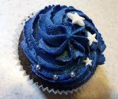 Starry Night Reception Cupcakes.