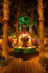 Cast Iron Fountain at Boojum Tree's Hidden Gardens in Phoenix by Alan Hajek Photography Hidden Garden, Tree Wedding, Photo Tree, Fountain, Photo Galleries, Reception, Phoenix, Gardens, Outdoor Decor