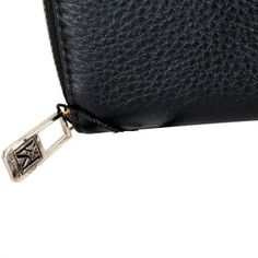 Karla Hanson - Black Women's Wallet - $49.99/each This Ladies Fashion Wallet is made from cow leather with a golden finish, approximately 13 x 2 x 9.5 cm. Presented by  www.ecomcreator.com Fashion Wallet, Ladies Fashion, Womens Fashion, Wallets For Women Leather, Cow Leather, Leather Wallet, Zip Around Wallet, Lady, Feminine Fashion