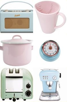 Pastel Accessories For Kitchen!