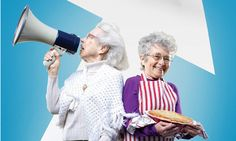 Two Raging Grannies! Shirley (85) en Hinda (91) trekken op hun scootmobiel door de VS op zoek naar de waarheid over de economie. Bekijk deze 2DOC-uitzending van de BOS via onderstaande link: http://www.spirit24.nl/#!player/info/program:51571063/newest