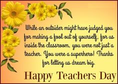 10 best teachers day images on pinterest happy teachers day want to thank your teacher for making you a good person sharing with you thank you greetings for teachers day wishes with quotes m4hsunfo