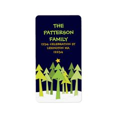 Shop Retro Christmas Trees Holiday Address Label created by kat_parrella. Retro Christmas Tree, Christmas Trees, Christmas Address Labels, Custom Address Labels, How To Be Outgoing, Shades Of Green, Templates, Words, Holiday