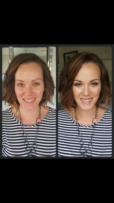 Another beautiful transformation with #MotivesCosmetics