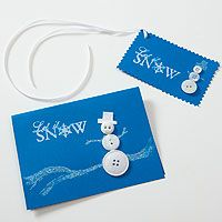 Snowmen Greetings - Crafter's Holiday Cottage