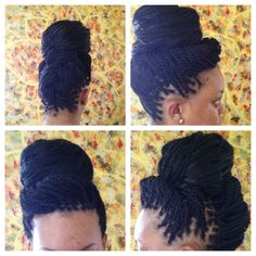 Senegalese Twist With Human Hair | senegalese twist | Tumblr