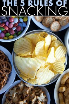 expert diet tips - the 5 rules of snacking!