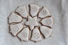 Spice Cookies, Xmas Cookies, Sugar Cookies, Christmas Cooking, Christmas Time, Honey Cake, Sugar Art, Sugar And Spice, Royal Icing