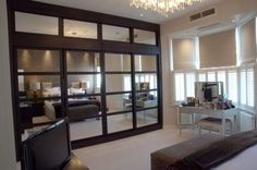 fitted wardrobes with interesting doors - Google Search