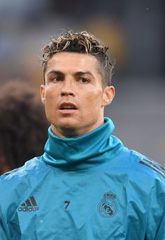 Cristiano Ronaldo of Real Madrid looks on during a Real Madrid training session ahead of the UEFA Champions League Final against Liverpool at NSC Olimpiyskiy Stadium on May 2018 in Kiev, Ukraine. Get premium, high resolution news photos at Getty Images Cristinao Ronaldo, Cristiano Ronaldo Quotes, Cristiano Ronaldo Haircut, Cristiano Ronaldo Wallpapers, Ronaldo Football, Cristiano Ronaldo Juventus, Cristiano Ronaldo Cr7, Ronaldo Free Kick, Real Madrid Training