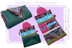 Geldbörse / Fächertasche von Die tapfere Schneiderin, handmade with love ... by Viola auf DaWanda.com