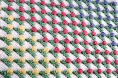 Tulip Field Crochet blanket!