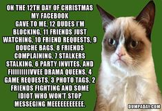 The 12 Days of Christmas -- Grumpy-style!