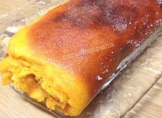 Torta de abóbora (ju) Flan, Mousse, Portuguese Recipes, Other Recipes, Hot Dog Buns, Catering, Chocolate, French Toast, Deserts