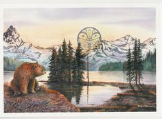 Image from http://aboutcanada.ca/store/productPhotos/2000Products/1184955226-Sue-Coleman-Bear-At-Maligne-Lake-AC386.jpg.