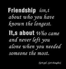 Sometimes it's hard to know who the real friends are....