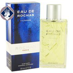 Eau De Rochas Homme 200ml/6.7oz Eau De Toilette Spray Cologne Fragrance for Men