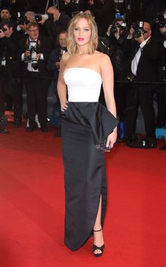 The absolute best of Cannes red carpet fashion: Jennifer Lawrence in Dior in 2013.