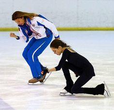 Eteri Tutberidze & Evgenia Medvedeva.