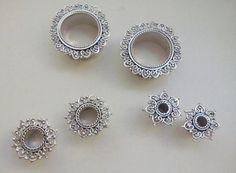 Alargadores em Prata
