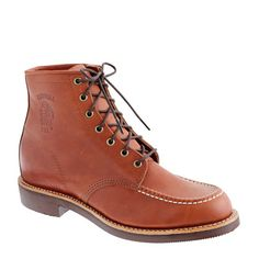 chippewa® for j.crew moc-toe boots. [$288, j. crew]