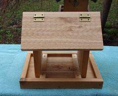 futterh uschen aus holz selber bauen vogelhaus. Black Bedroom Furniture Sets. Home Design Ideas