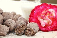 "Chocolate Almond ""Wedding Cookies"" from @createdbydiane"
