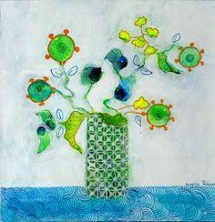 "Saatchi Art Artist Sandrine Pelissier; Painting, ""In Vancouver"" #art"