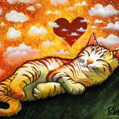 Raphaël Vavasseur Art — THE SWEET HEART - Raphaël VAVASSEUR - Peinture...