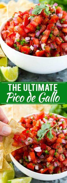 Home Made Doggy Foodstuff FAQ's And Ideas Pico De Gallo Recipe Homemade Salsa Recipe Salsa Fresca Recipe Mexican Food Recipes, New Recipes, Favorite Recipes, Healthy Recipes, Korean Recipes, Quick Recipes, Italian Recipes, Tex Mex, Salsa Fresca Recipe
