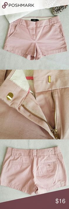 J. Crew Chino Excellent condition. Bought from poshmark and they are too big unfortunately 😔 No stains or signs of wear. Comes from smoke free, pet free home. Shipping dates are Tuesday through Friday J. Crew Shorts
