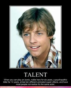 Mark Hamill-I've been saying this for years!